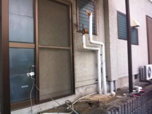 刈谷市 電気温水器取替工事 撤去後