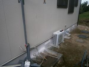 阿久比町 電気温水器取替工事 撤去後