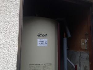 瀬戸市電気温水器取替工事施工事例 施工前