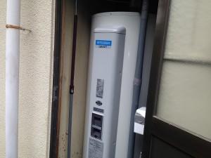 瀬戸市電気温水器取替工事施工事例 完成SRG-465C