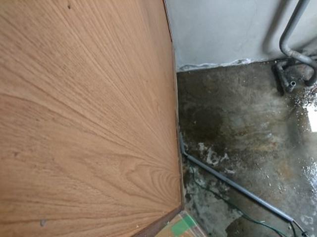 電気温水器撤去